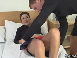 friend of son videos - Son's horny friend gets full, unrestricted access to mommy's wet pussy